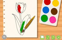 [Ako by si vyfarbil kvet?]