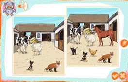 [Porovnanie obrázkov - Na farme]