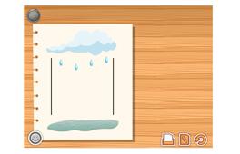 [Prší]